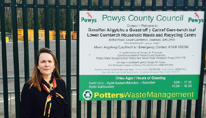 Save Lower Cwmtwrch Recycling Centre