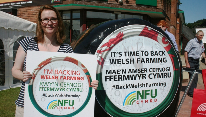 Kirsty backs investment in Welsh red meat