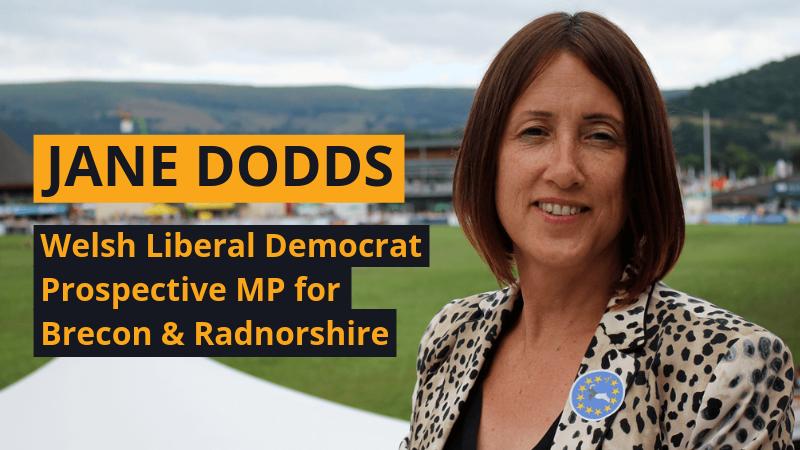 Jane Dodds for Brecon & Radnorshire