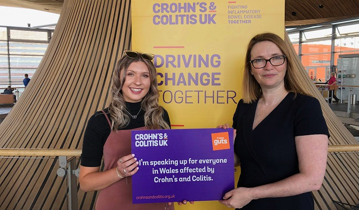 World IBD Day 2019 marked in Welsh Assembly