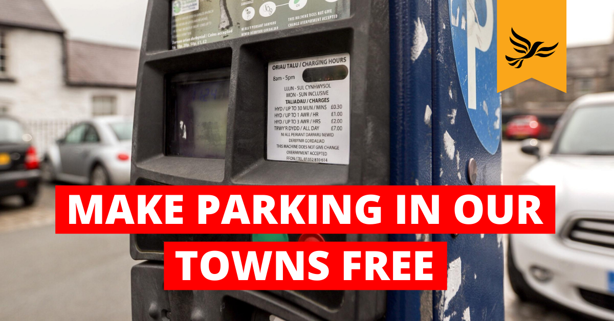 Free parking in our towns