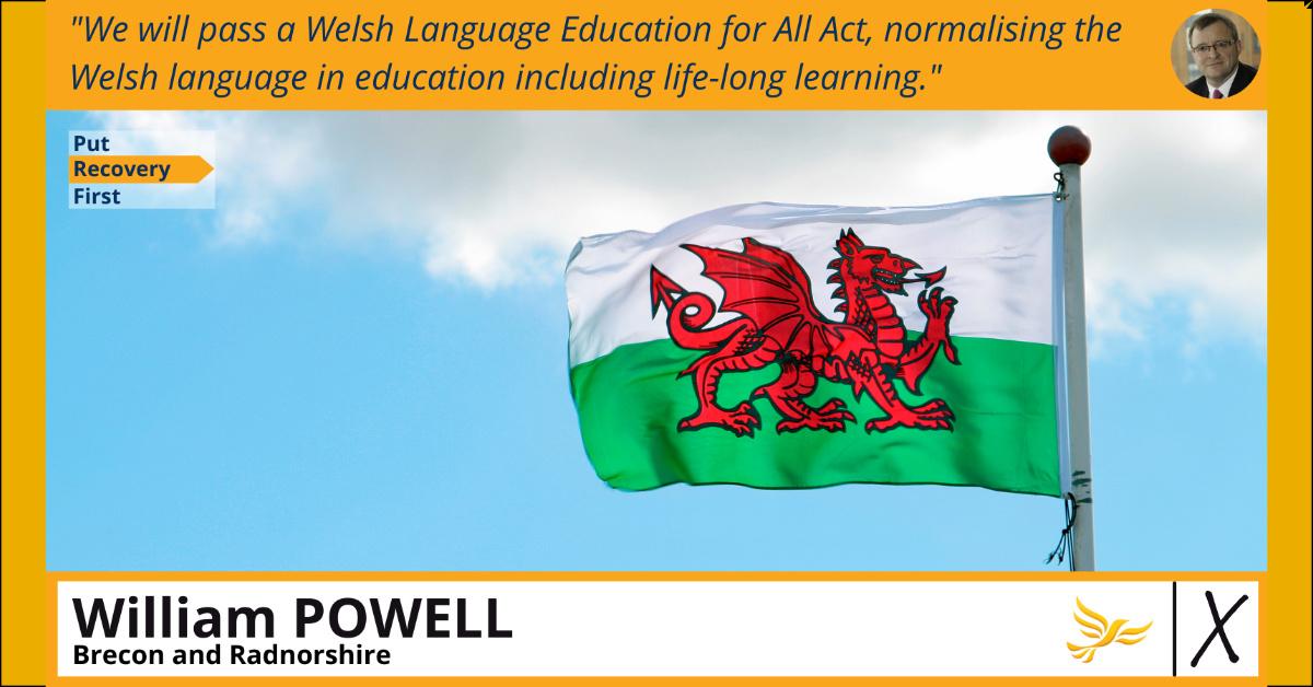 Y Gymraeg a'i diwylliant - Welsh language and culture