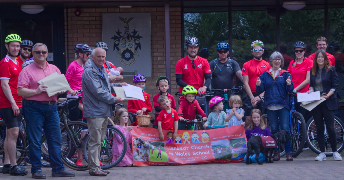 Llanbedr to LLandod, Community Cycles to save its school