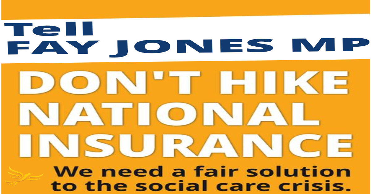 No to National Insurance Rise