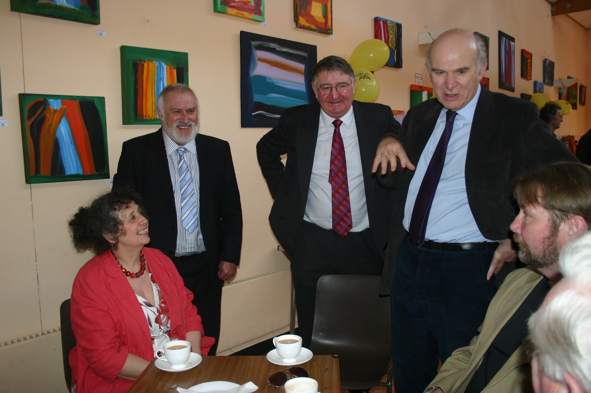 An Evening with the Business Secretary, Vince Cable MP