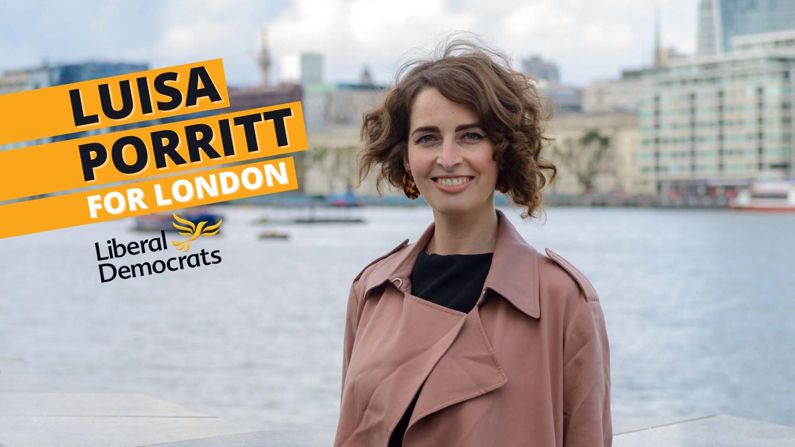 Luisa Porritt for London