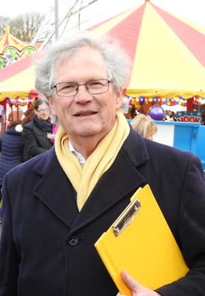 Graham Donald at Westbury-on-Trym Christmas Fayre