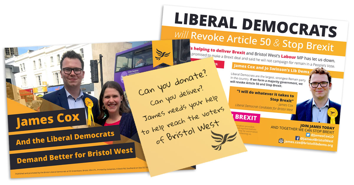 Click to see the PDF of James' Leaflet