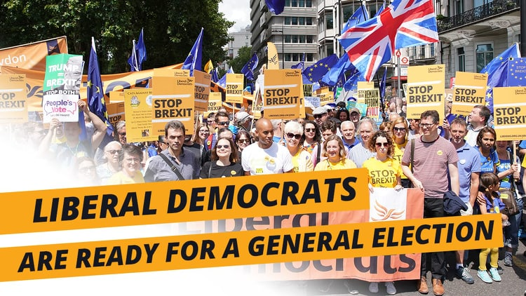 Lib Dems put forward December 9th General Election plan