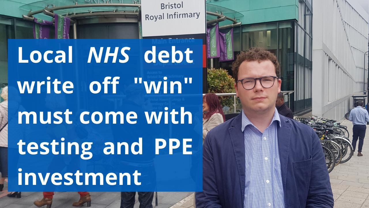 Local NHS debt write off