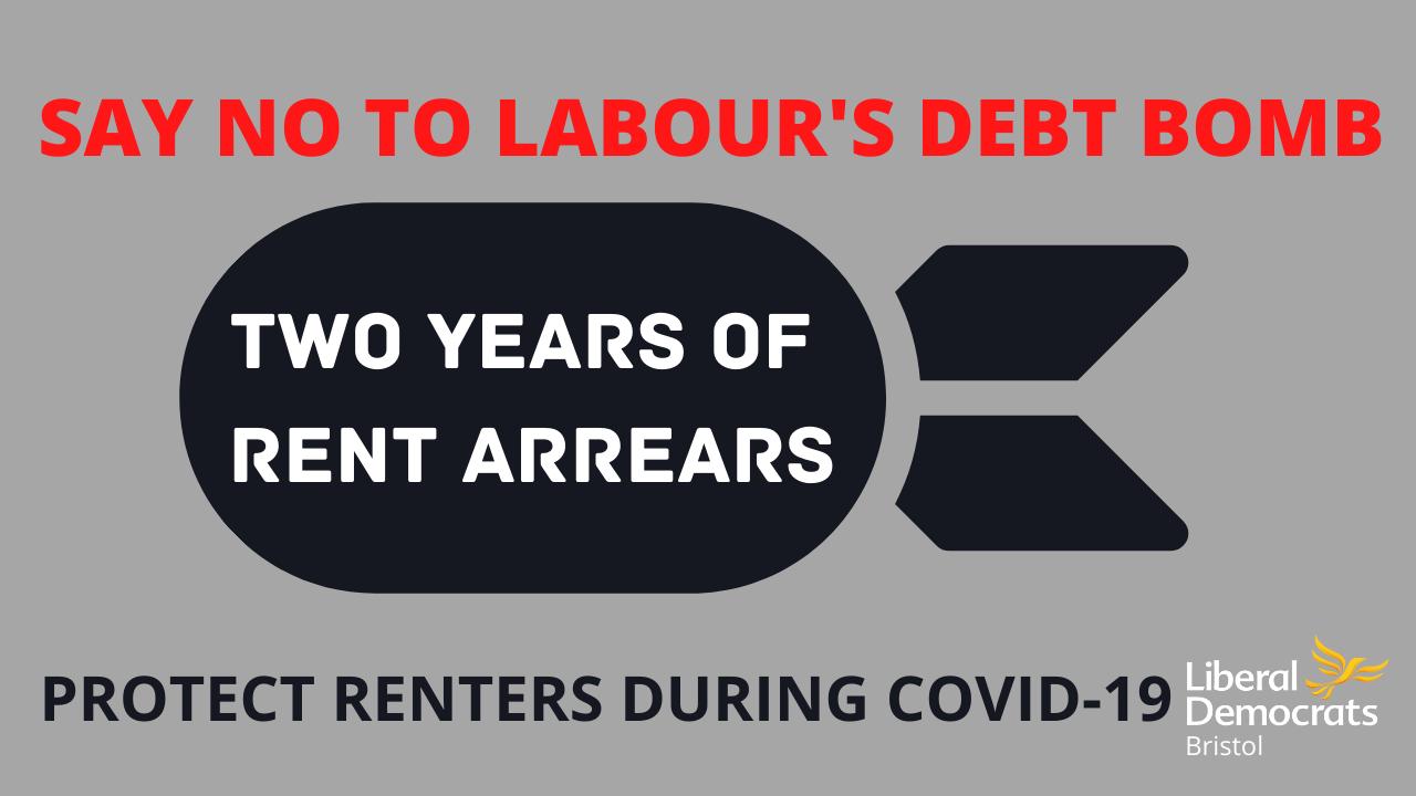 Labour's proposals a 'debt bomb' for Bristol renters