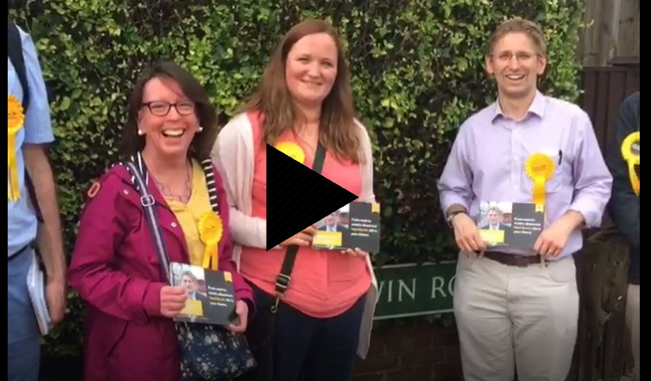Bromley Town Campaigning in 2017