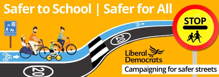 Safer to school|Safer for All