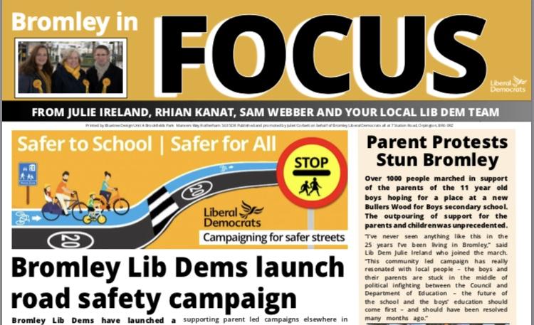 Bromley Feb Focus