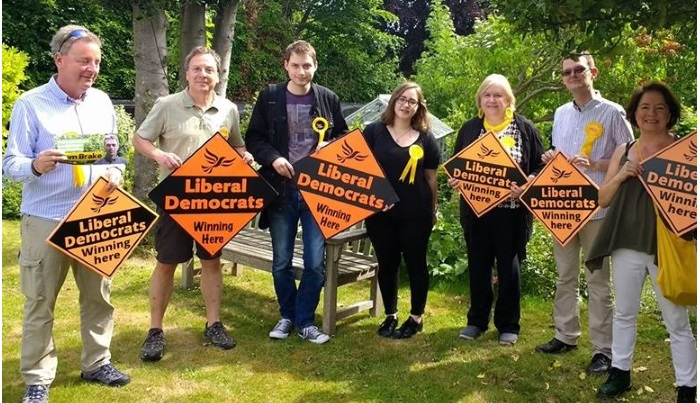 Volunteer to help Bromley Liberal Democrats