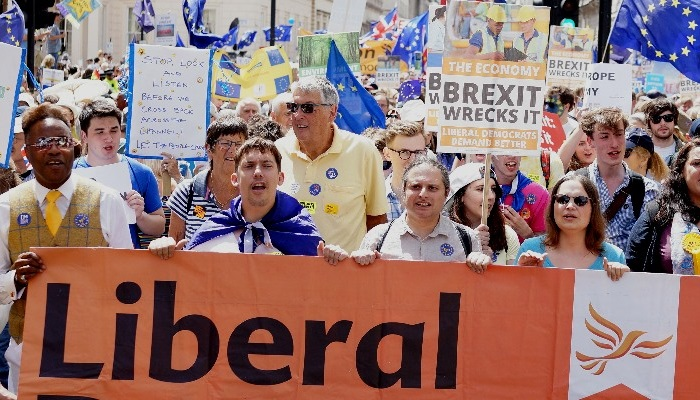 March for Vote on the Final Brexit Deal