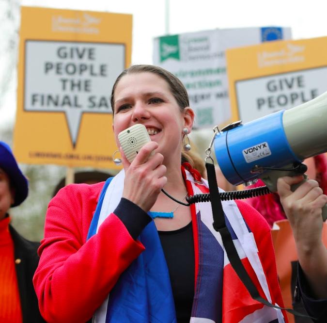 Swinson: Millions in Britain value our place in the EU