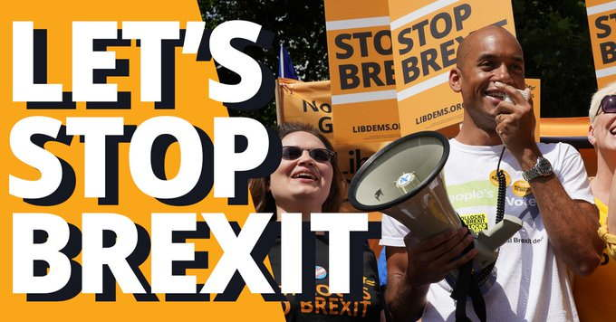 Bromley Lib Dems Fighting General Election to Stop Brexit