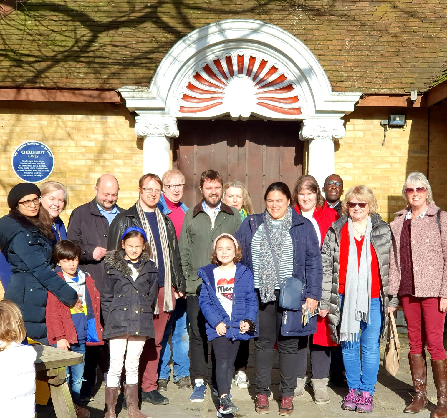 Bromley Lib Dems visit Chiselhurst Caves!