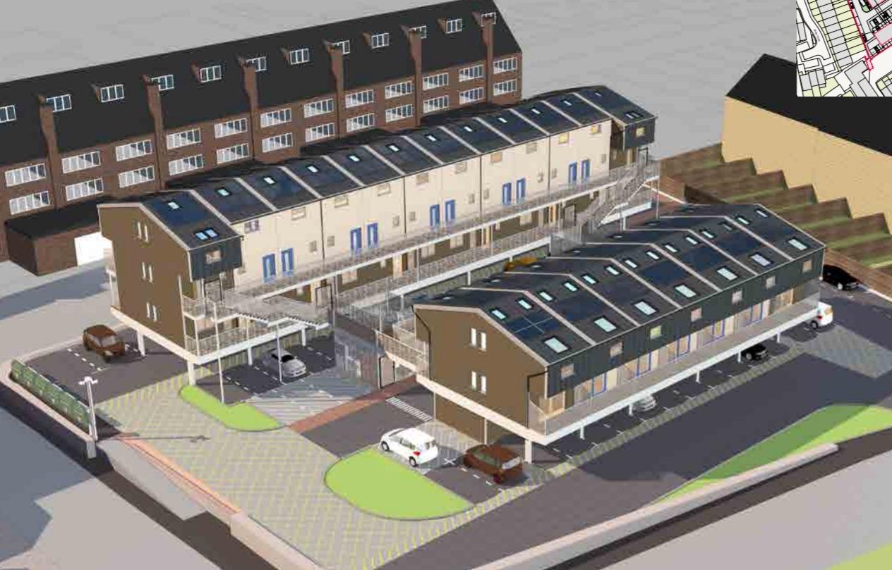 Building of 25 Zed-Pods in Burnt Ash Lane Approved