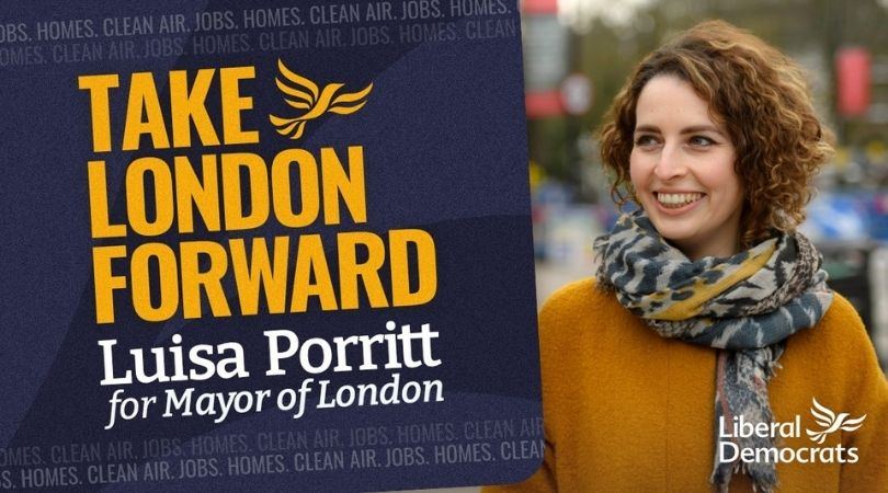 Luisa Porritt launches campaign to become next Mayor of London