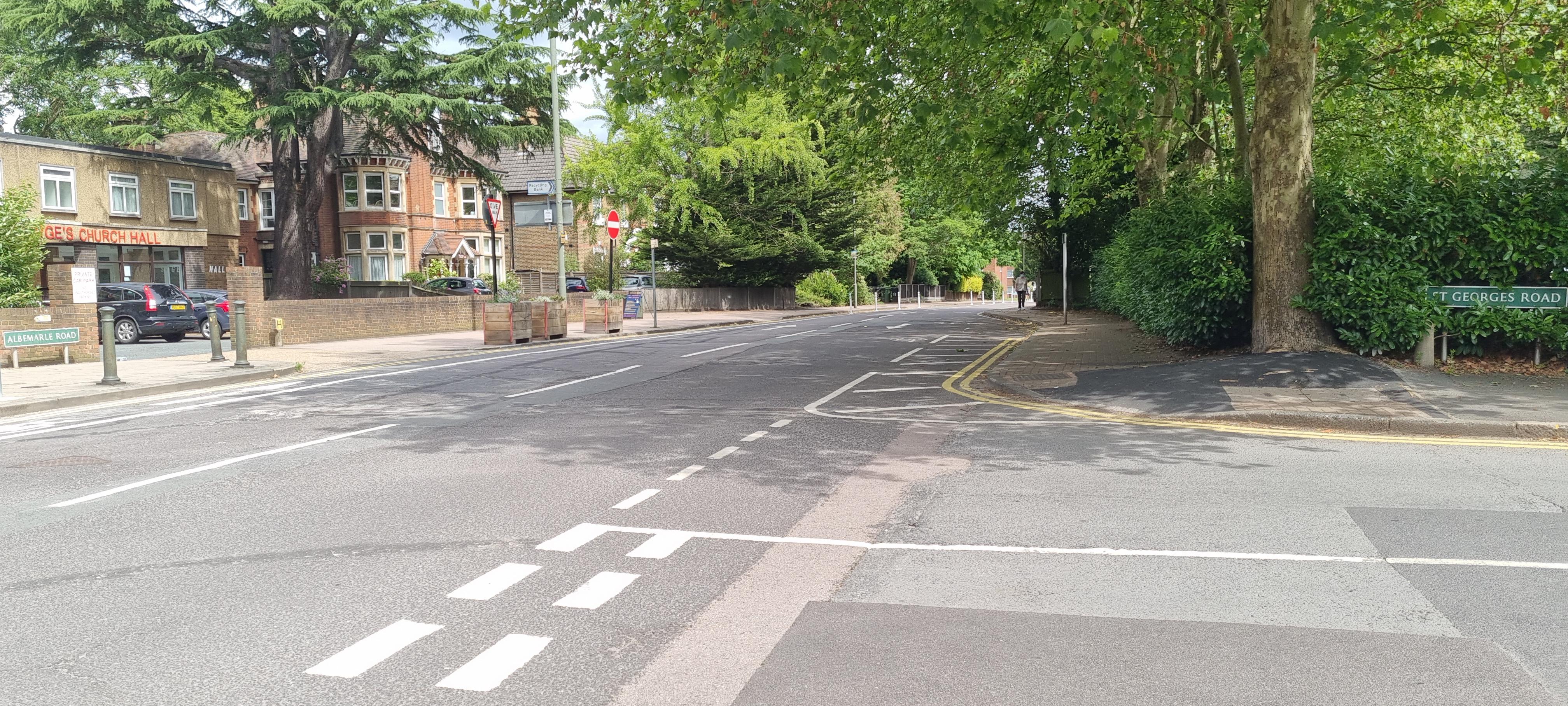 Albemarle Road Reopens