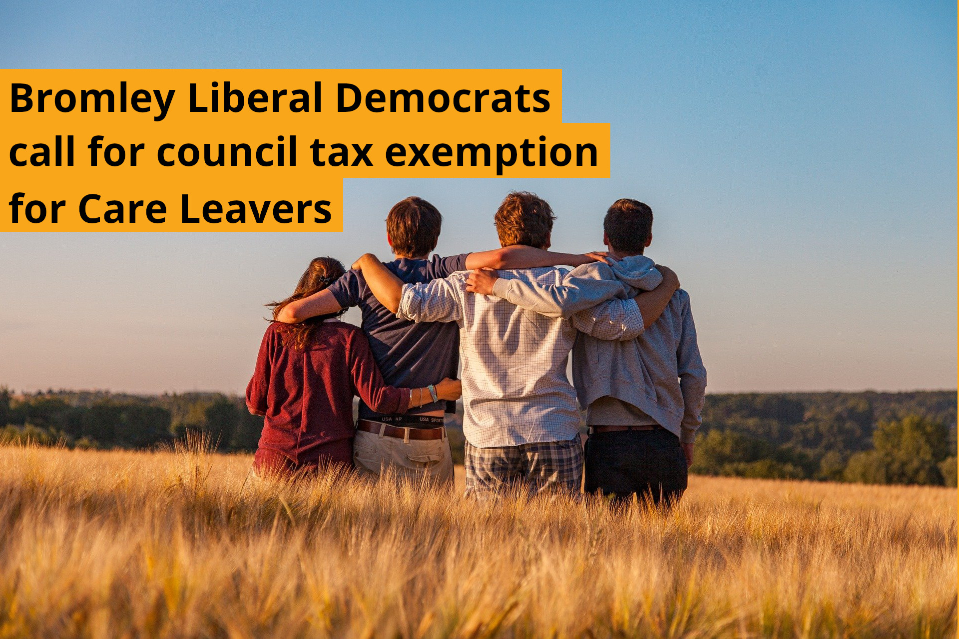 Petition: Care Leavers in Bromley should be exempt from council tax