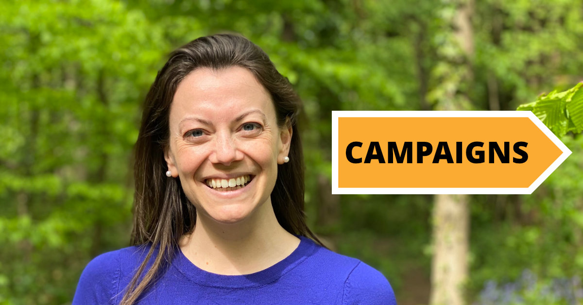 Campaigning for you