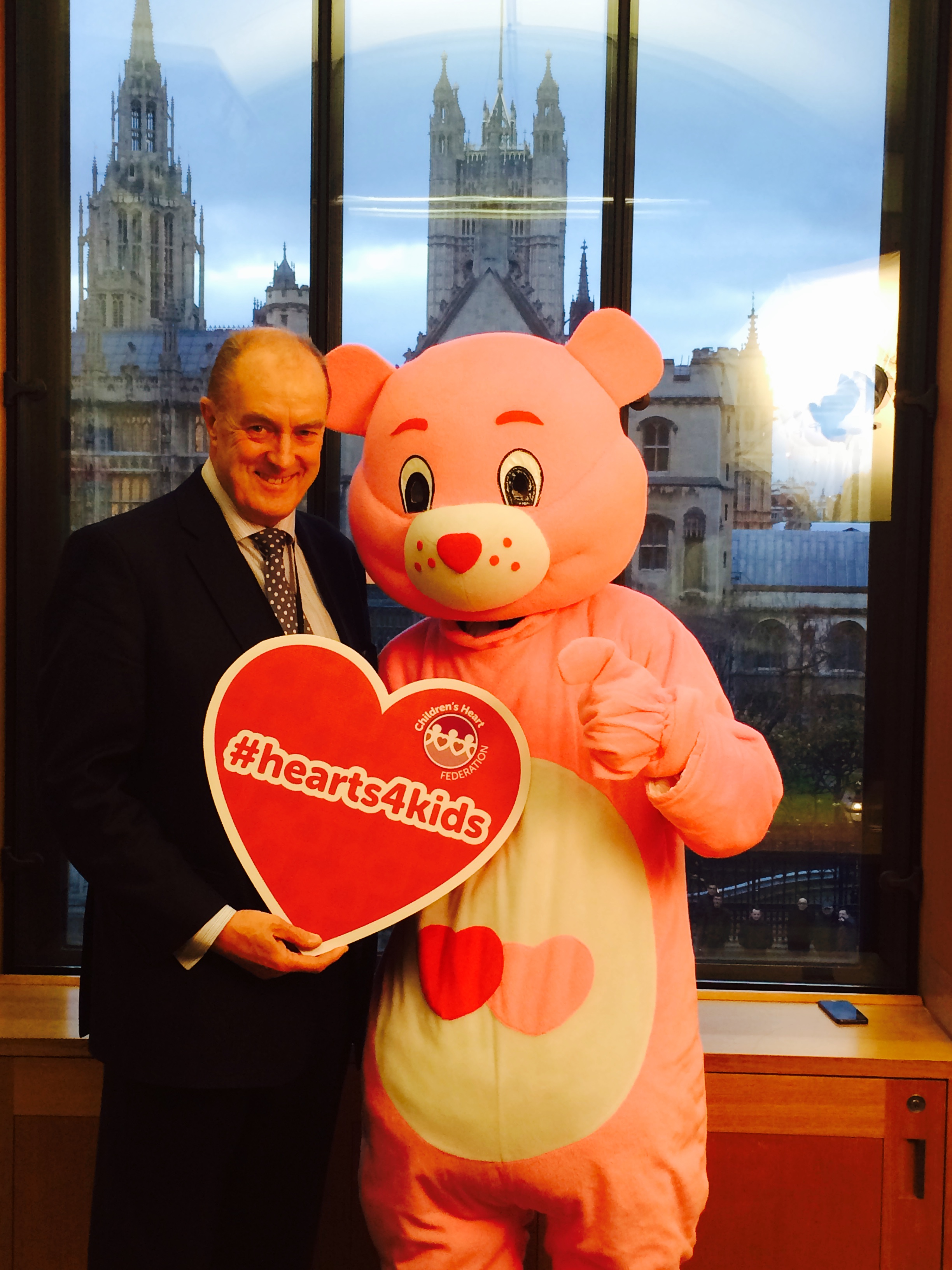 Birtwistle supports call for heart donors for children