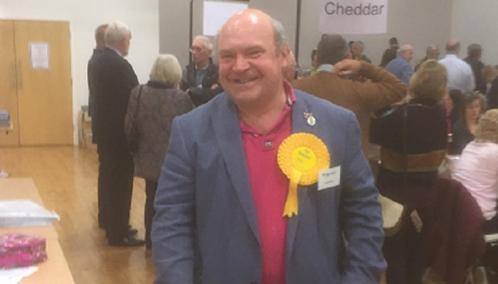 Bill Revans wins North Petherton from the Tories