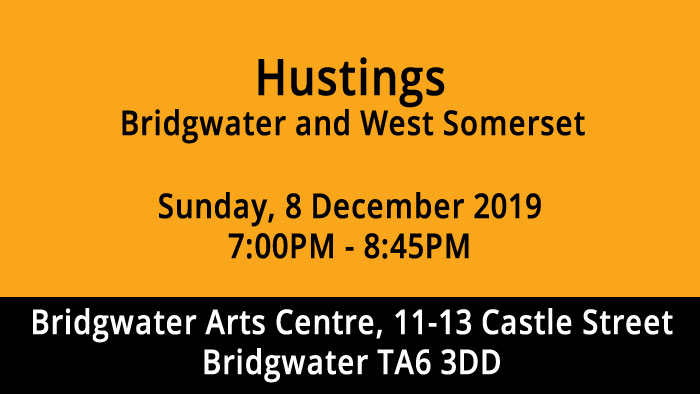Bridgwater and West  Somerset Husting