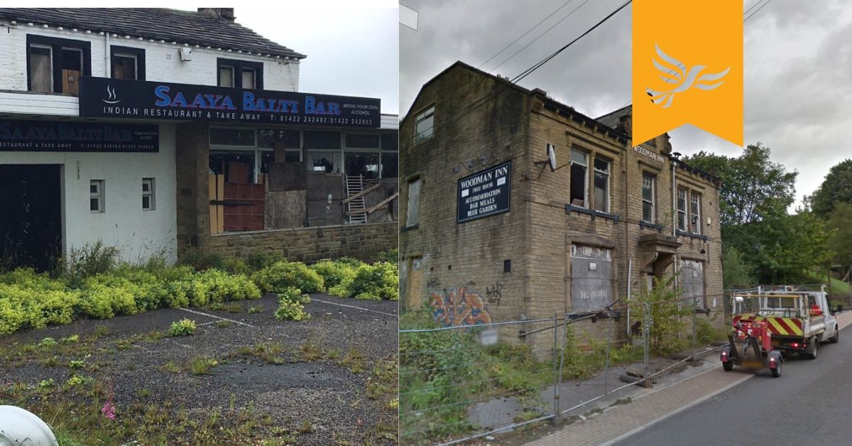 Petititon - Calderdale take action on derelict sites and empty homes