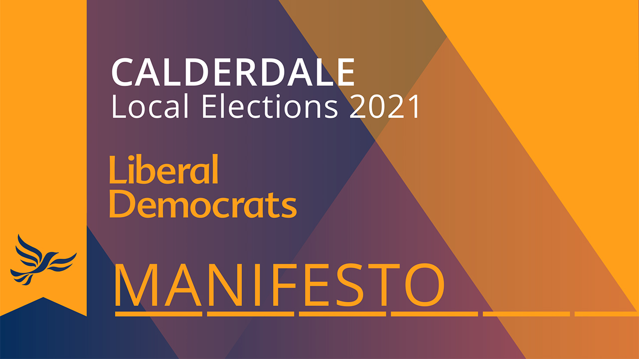 Our 2021 Local Election Manifesto