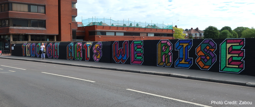 Thameslink Bridge Mural Update