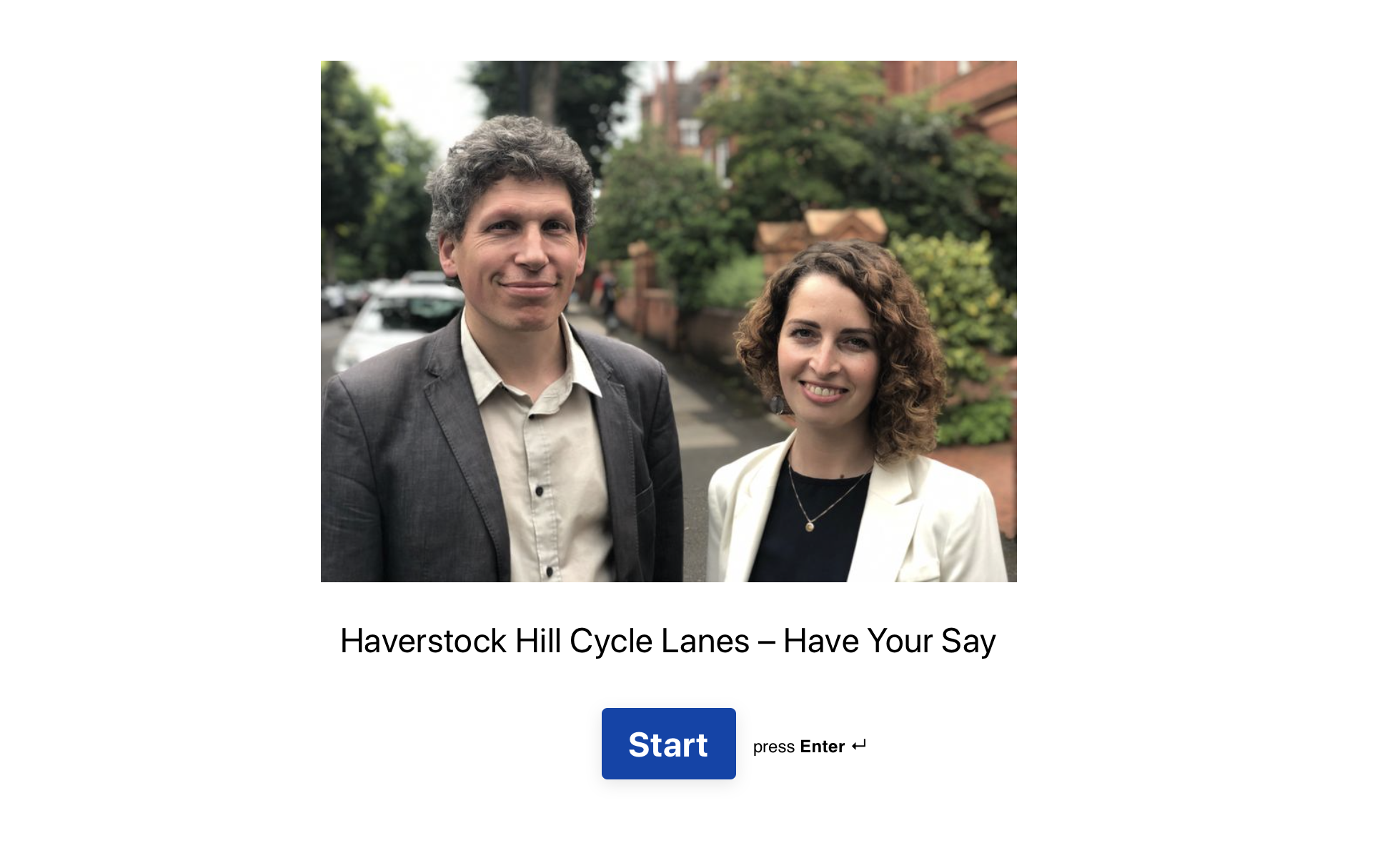 Haverstock Hill Cycle Lanes – Have Your Say