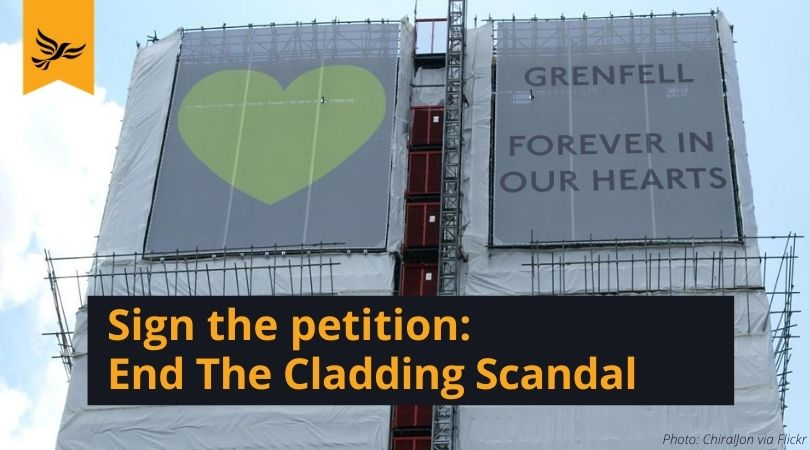 End the Cladding Scandal