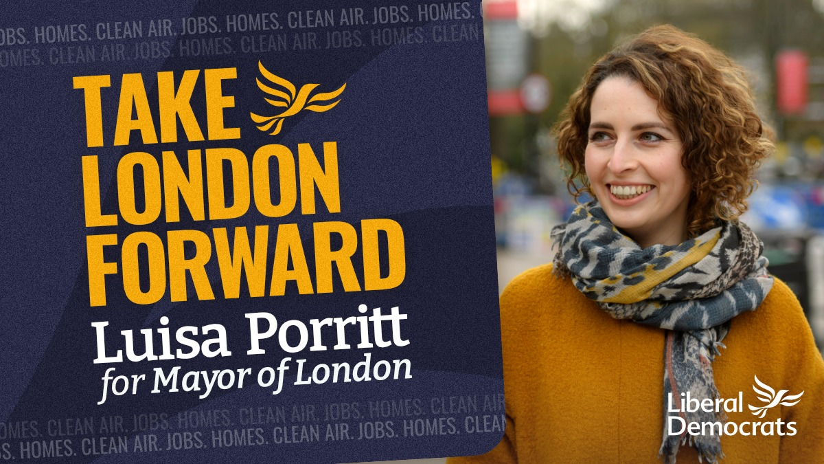 Luisa Porritt launches her campaign to be the next Mayor of London