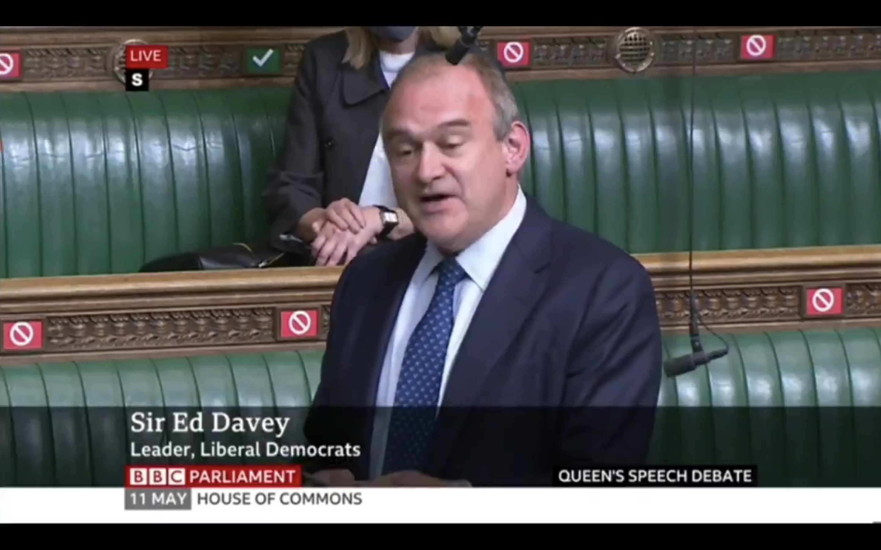 Ed Davey takes the Government to task.