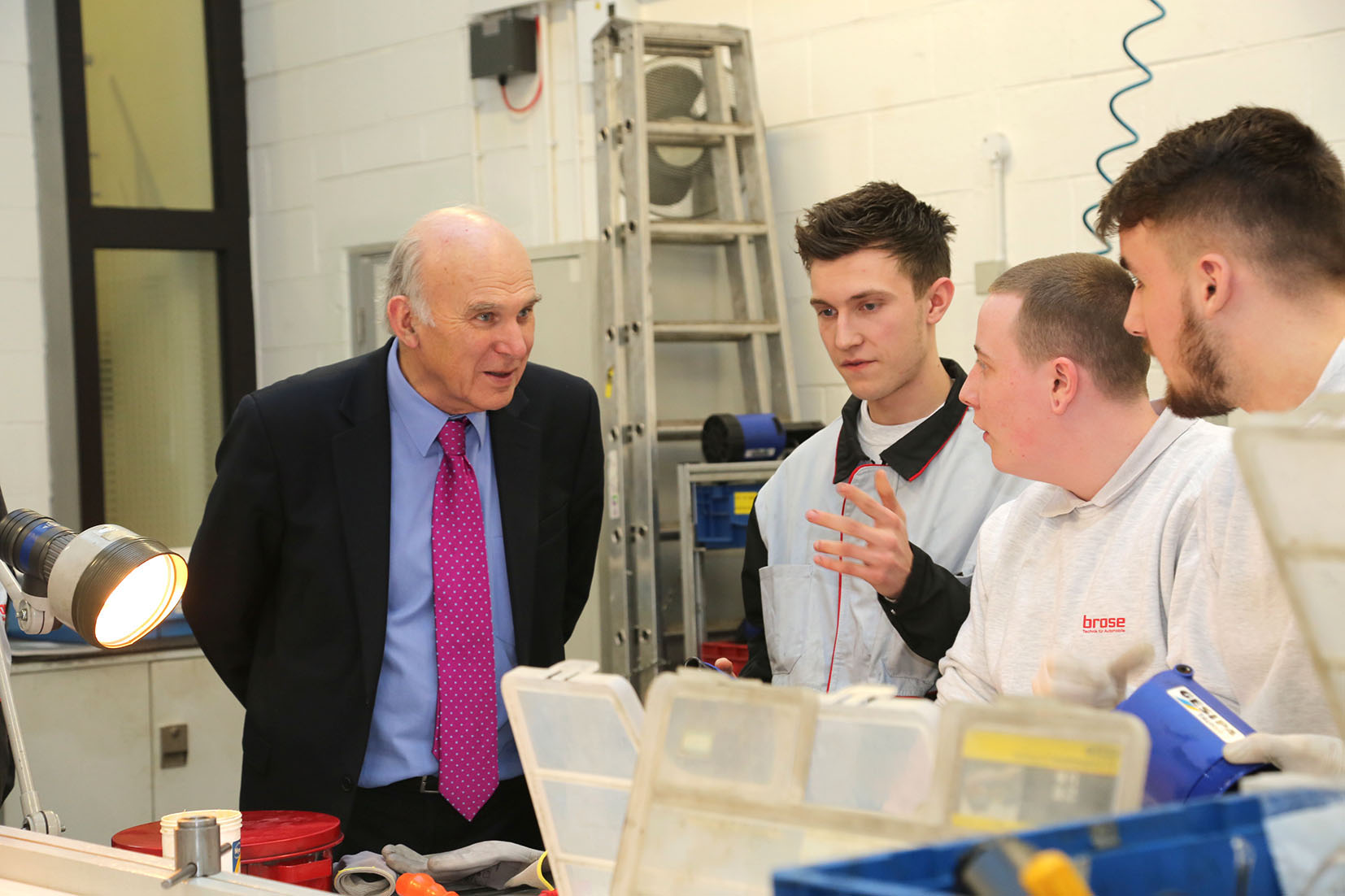 New Lib Dem leader Vince Cable will lead the fight to change the direction of Britain