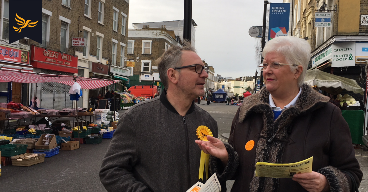 Pressure from local community and Liberal Democrats gains Queen's Crescent Market funding from the Mayor of London