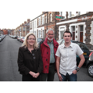 Jenny Willott, Simon Wakefield and Simon Pickard