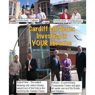 Cardiff's Lib Dem-led Council has invested record sums in our local libraries since 2004 ()