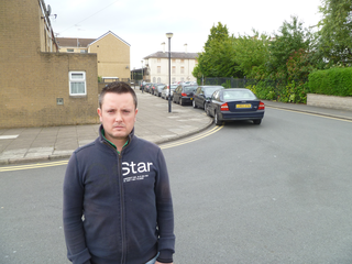 Councillor Delme Greening wants local people to gave a greater say in planning applications for new homes, especially when it comes to the number of parking spaces provided. ()