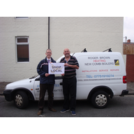 Cllr. Ed Bridges with Whitchurch Road business owner, Roger Brown