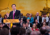 Nick Clegg delivers keynote speach to Liberal Democrat Autumn Conference