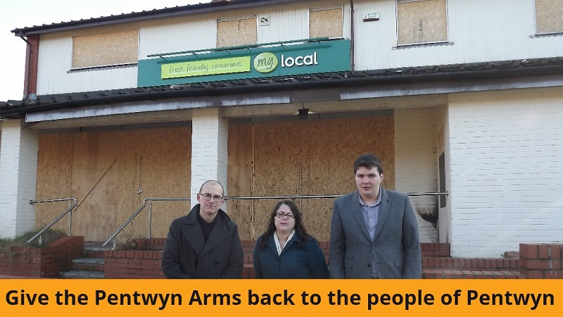Give the Pentwyn Arms back to the people of Pentwyn