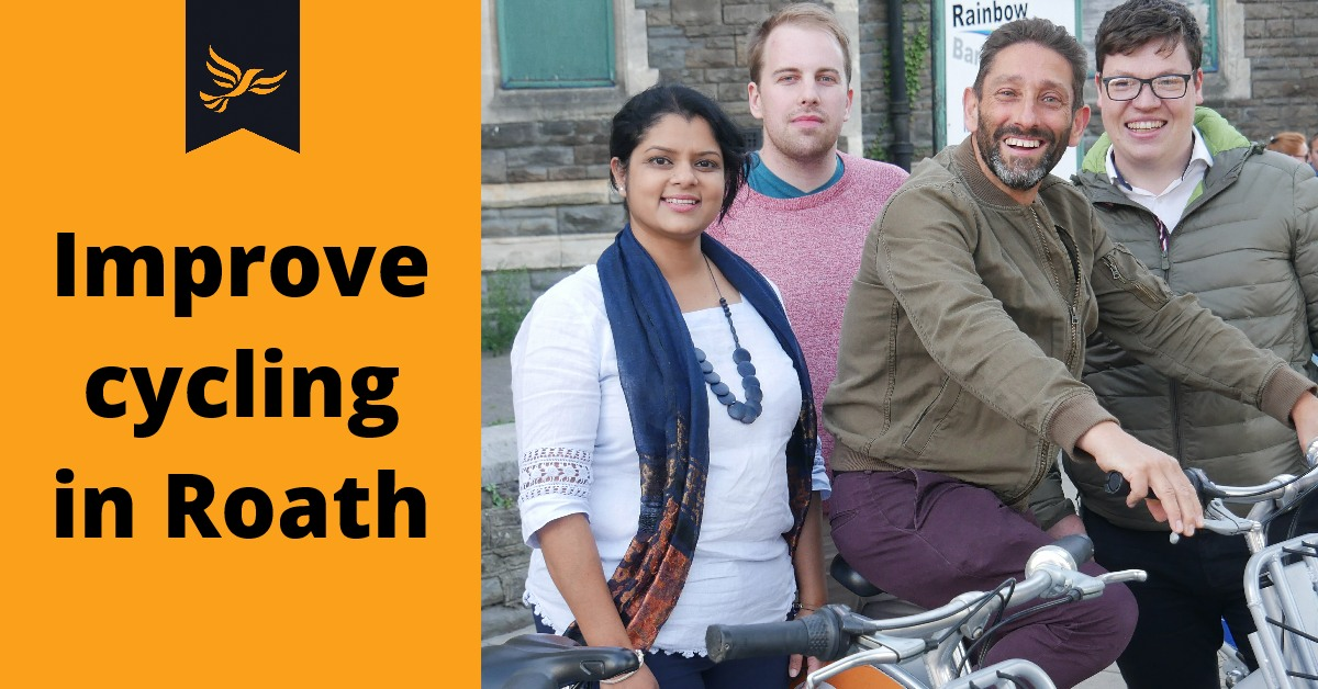 Improve Cycling in Roath