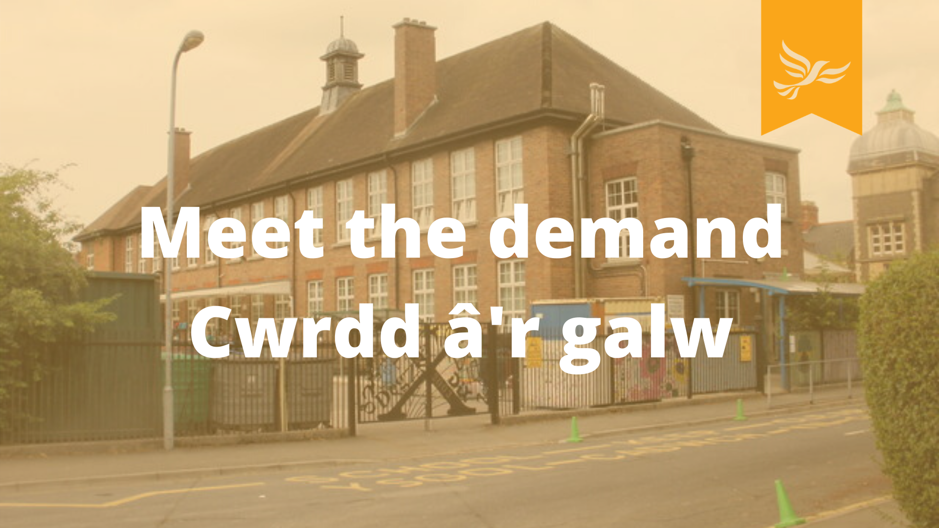 Fix our School places / Cwrdd â'r galw