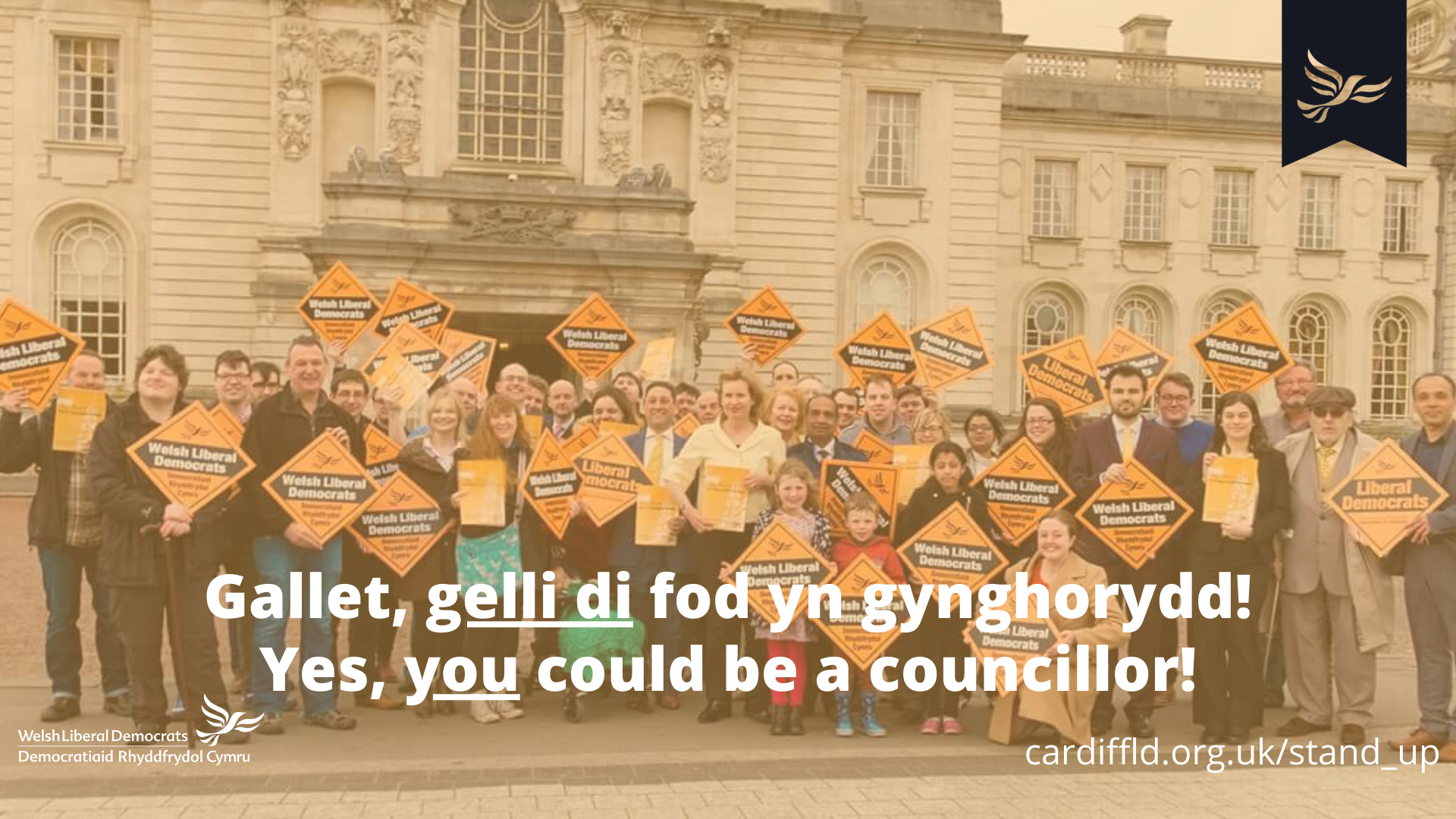 Yes, you could be a councillor!