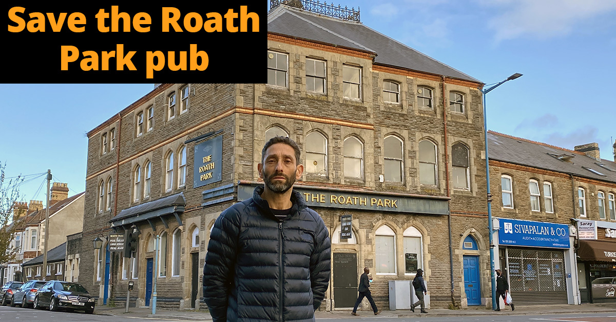 Save the Roath Park Pub and oppose the flats plan